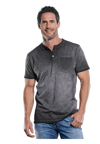Engbers Lässiges Henley T - Shirt in außergewöhnlicher Optik kaufen