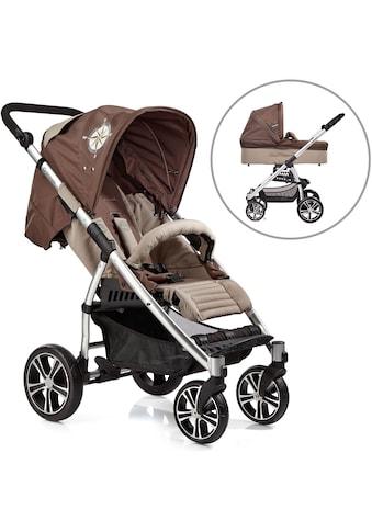 Gesslein Kombi-Kinderwagen »S4 Air+, Eloxiert/Nautik & Babywanne C3 Nautik«, ;... kaufen