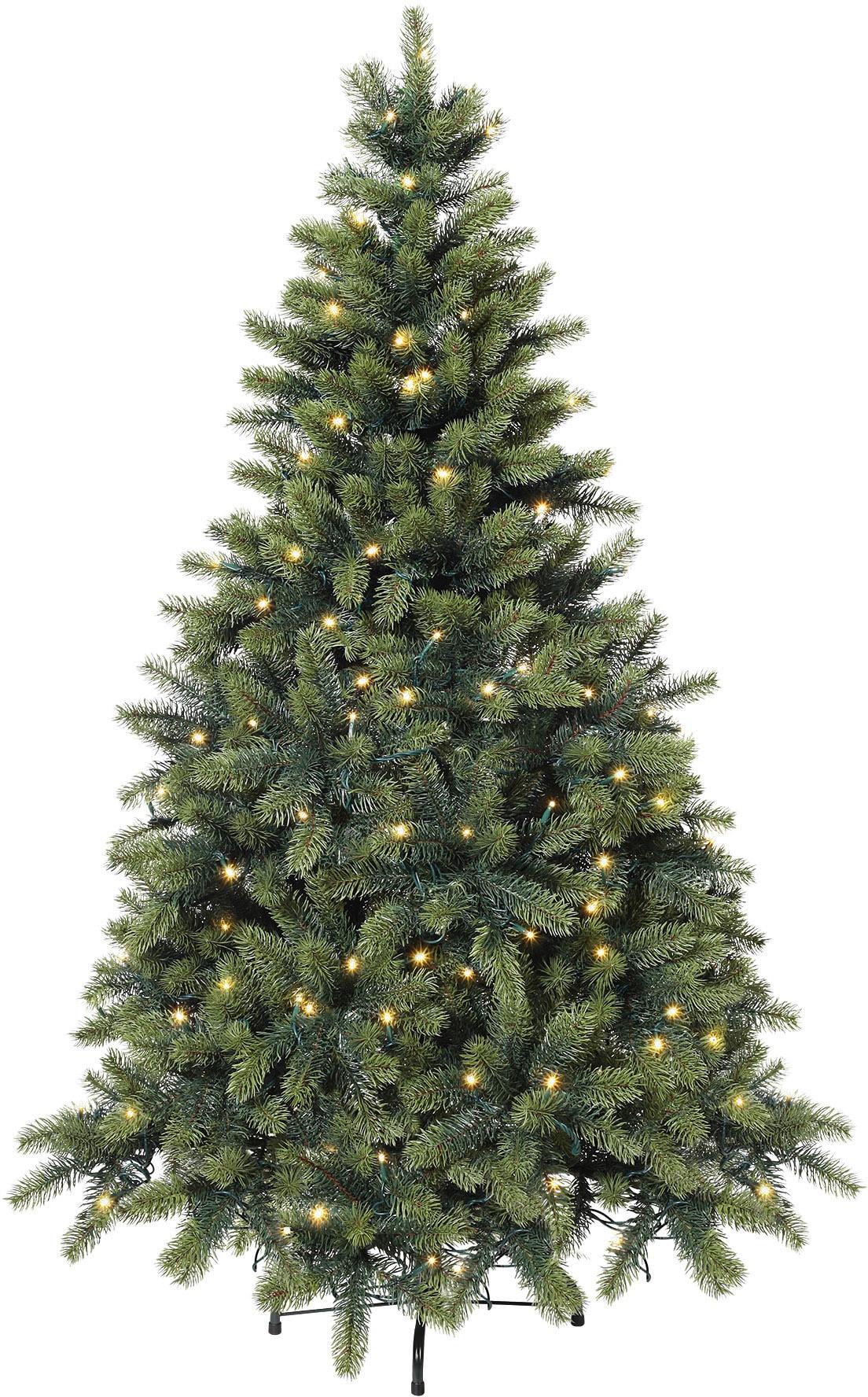 premium tannenbaum mit led lichterkette kaufen baur. Black Bedroom Furniture Sets. Home Design Ideas