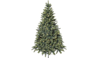 Künstlicher Weihnachtsbaum, mit LED-Lichterkette kaufen