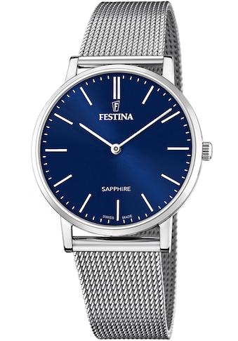 Festina Schweizer Uhr »Festina Swiss Made, F20014/2« kaufen