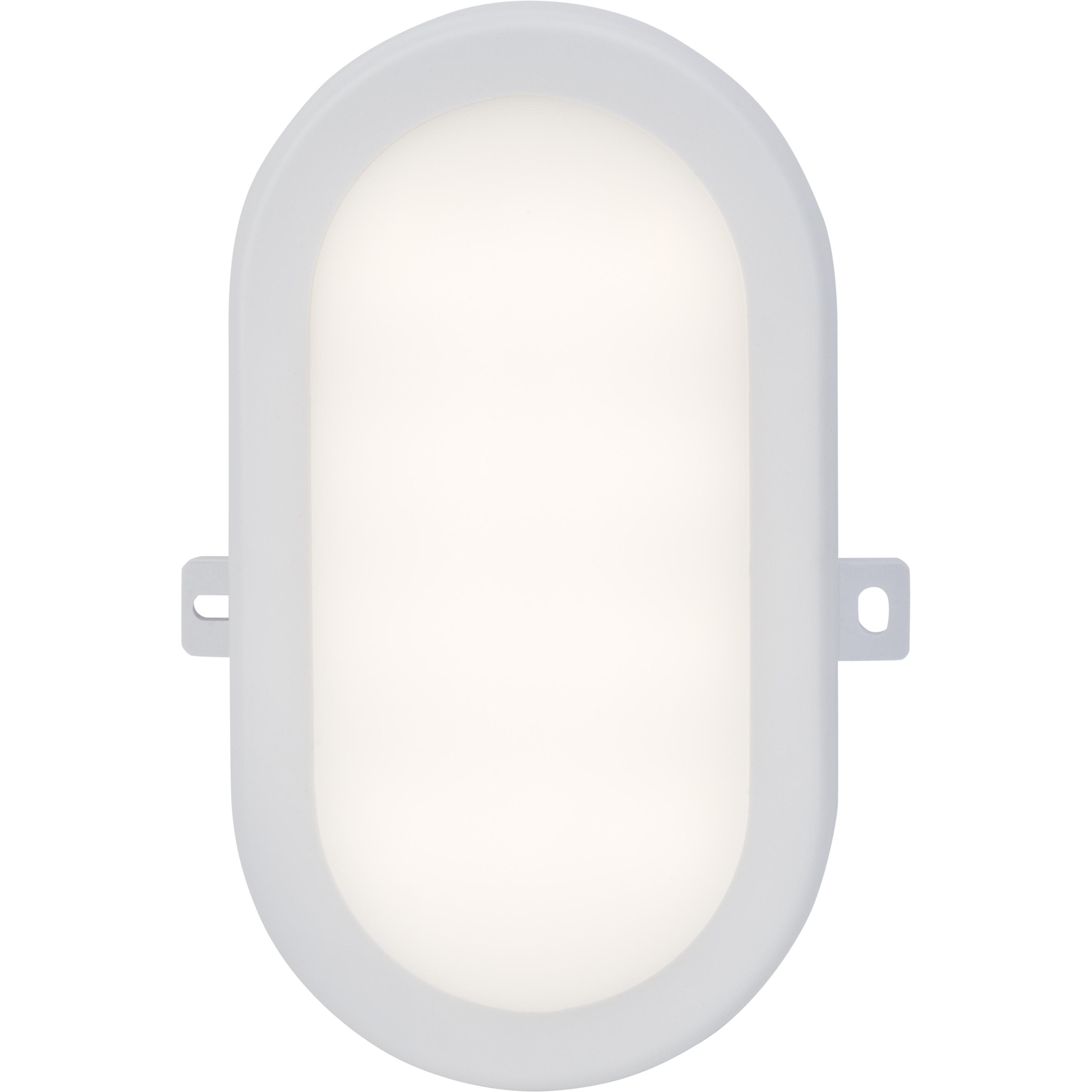 Brilliant Leuchten Tilbury LED Außenwand- und Deckenleuchte 17x12cm weiß