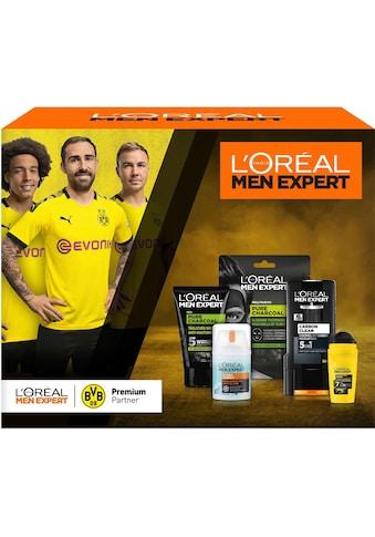 L'ORÉAL PARIS MEN EXPERT Hautreinigungs-Set »BVB 09 Pflege- und Reinigungsset«, (5 tlg.) kaufen