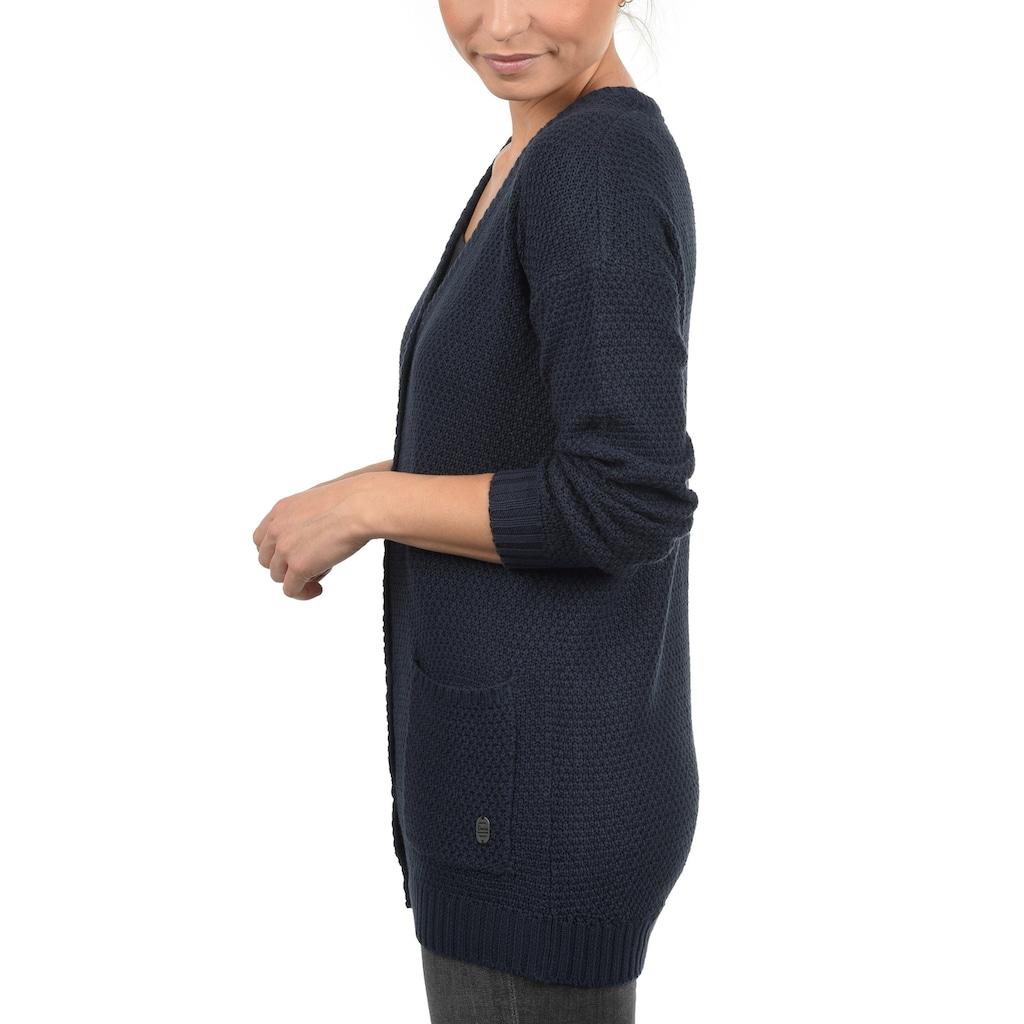 DESIRES Strickjacke »Inga«, Cardigan länger geschnitten