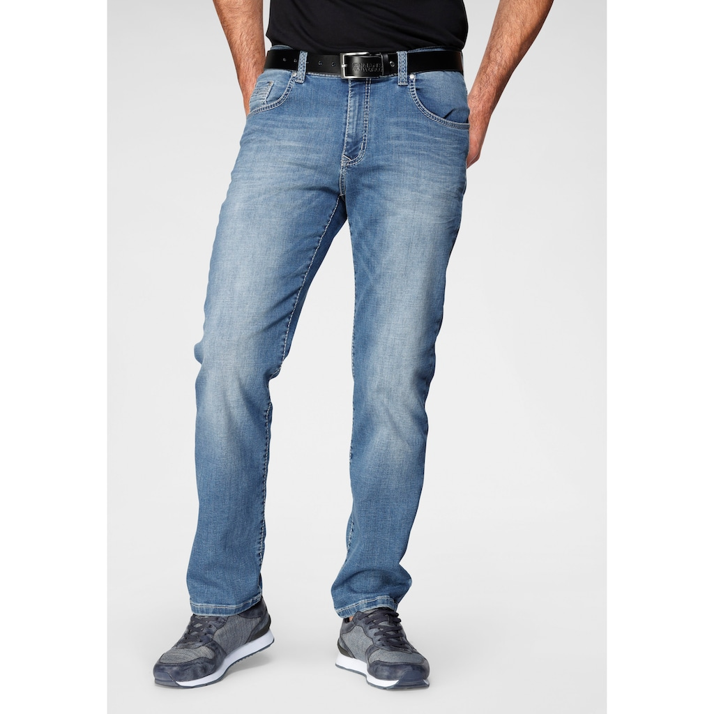 Pioneer Authentic Jeans Straight-Jeans »Rando«, Leichte Used Effekte
