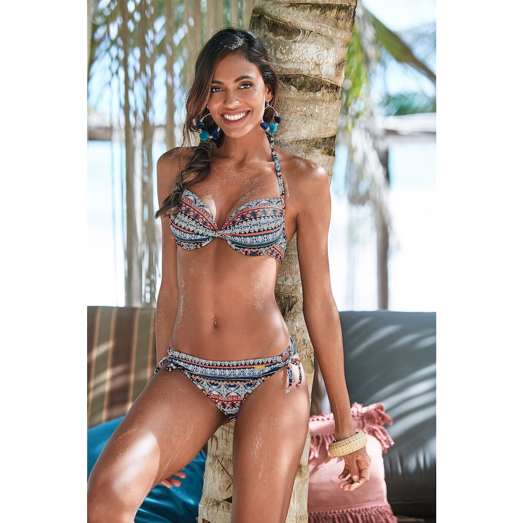 LASCANA Push-Up-Bikini-Top »Marrakesh«