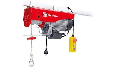 HOLZMANN - MASCHINEN Elektrischer Seilzug »ESZ1000D_230V«, 1000 kg, 6 Meter kaufen
