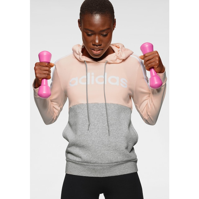 adidas Performance Kapuzensweatshirt »WOMEN ESSENTIAL CLUB FLEECE HOODIE«
