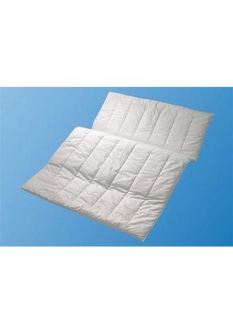 Centa-Star Kunstfaserbettdecke »Aqua Aktiv«, leicht, Bezug 100% Baumwolle, (1 St.), besonders atmungsaktiv und feuchtigkeitsregulierend kaufen