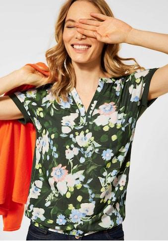 Cecil T-Shirt, mit floralem Printmuster kaufen