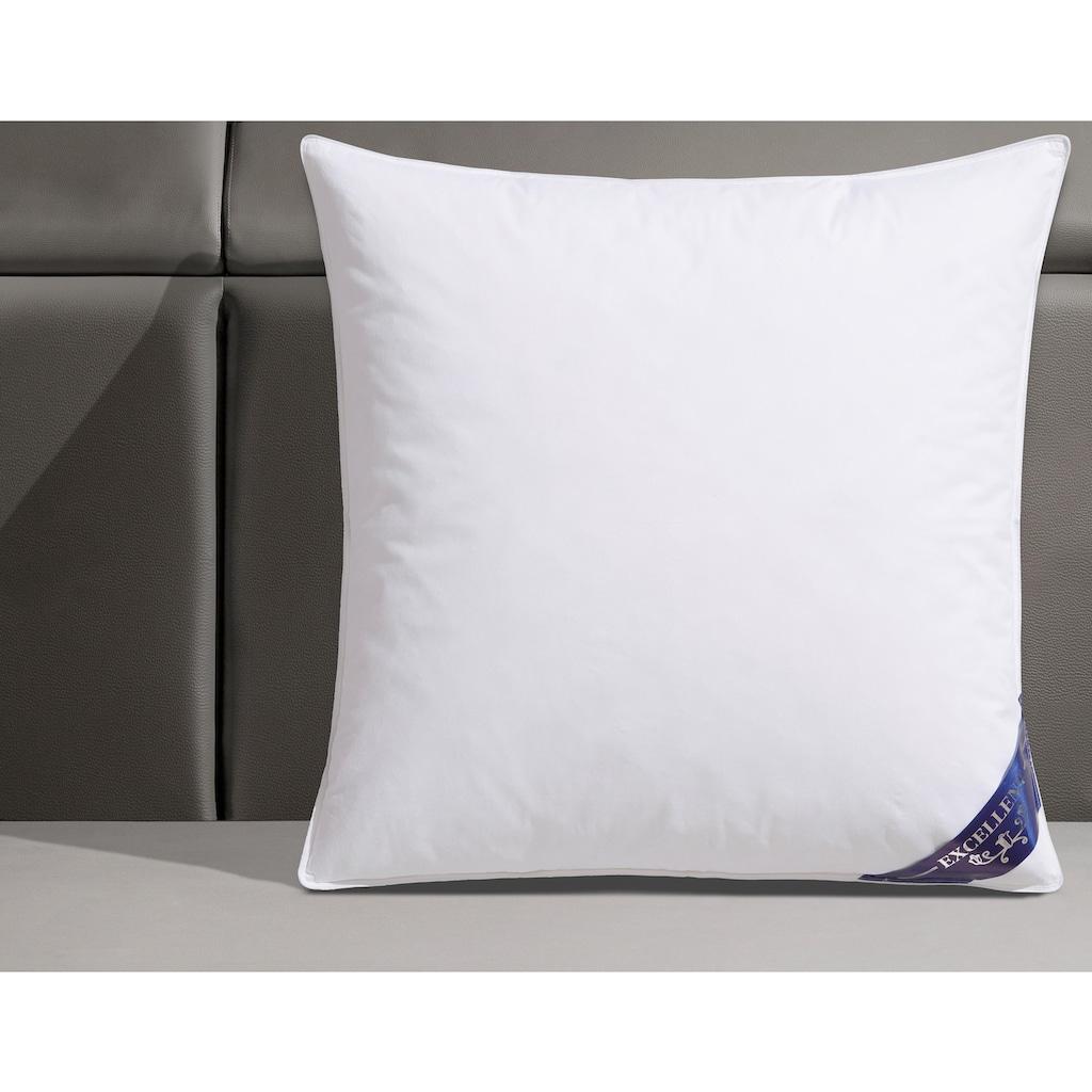 Excellent Federkopfkissen »Komfort«, (1 St.), hergestellt in Deutschland, allergikerfreundlich