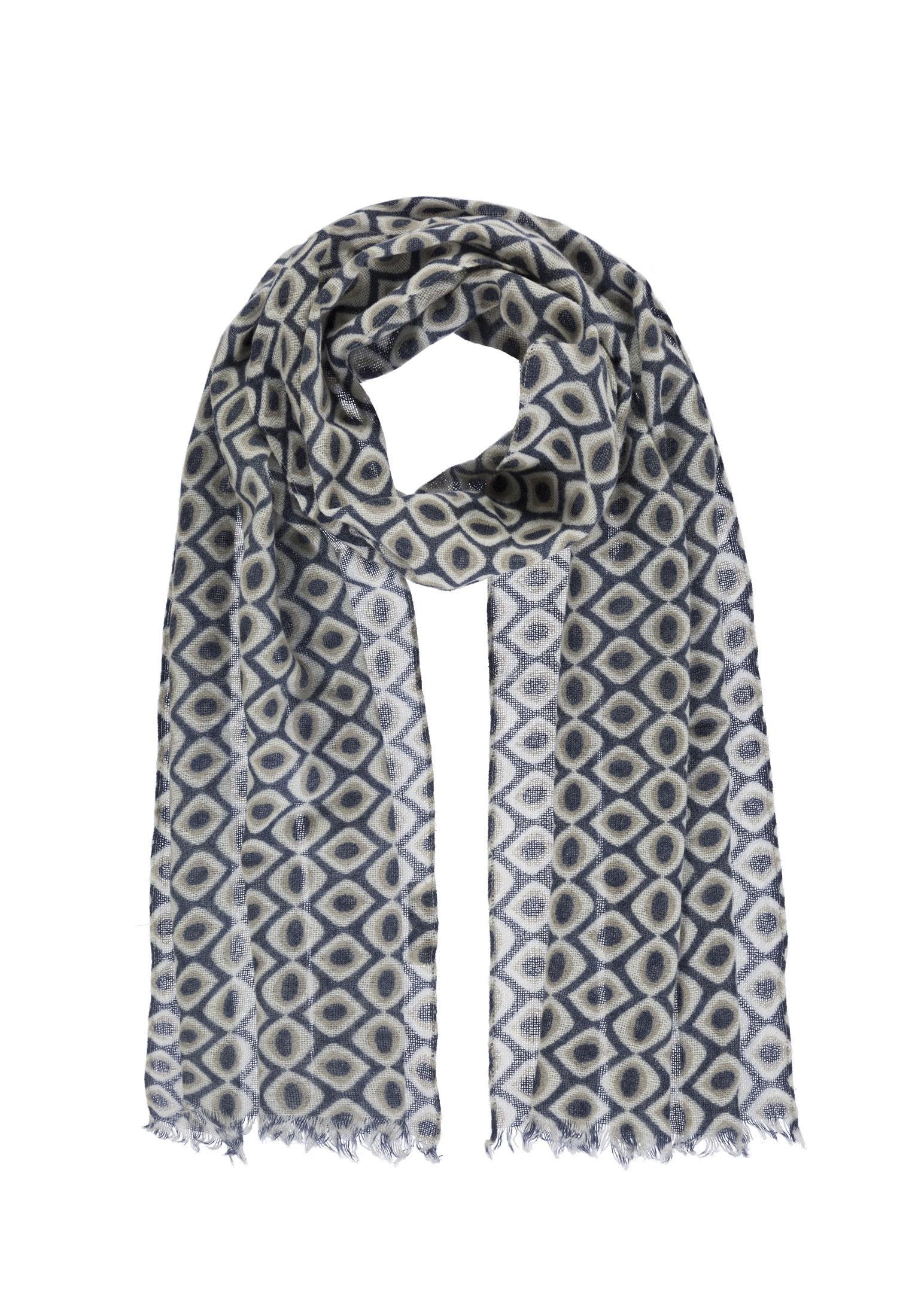 passigatti -  Schal, mit Allover Print