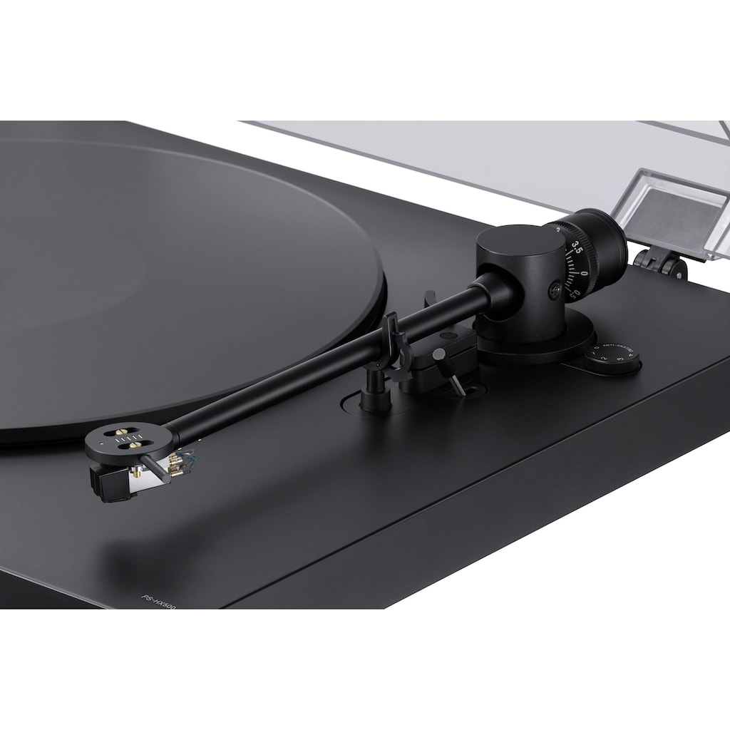 Sony Plattenspieler »Sony PS-HX500 Plattenspieler mit High-Resolution-Audio-Ripping-Funktion«, USB-Schnittstelle