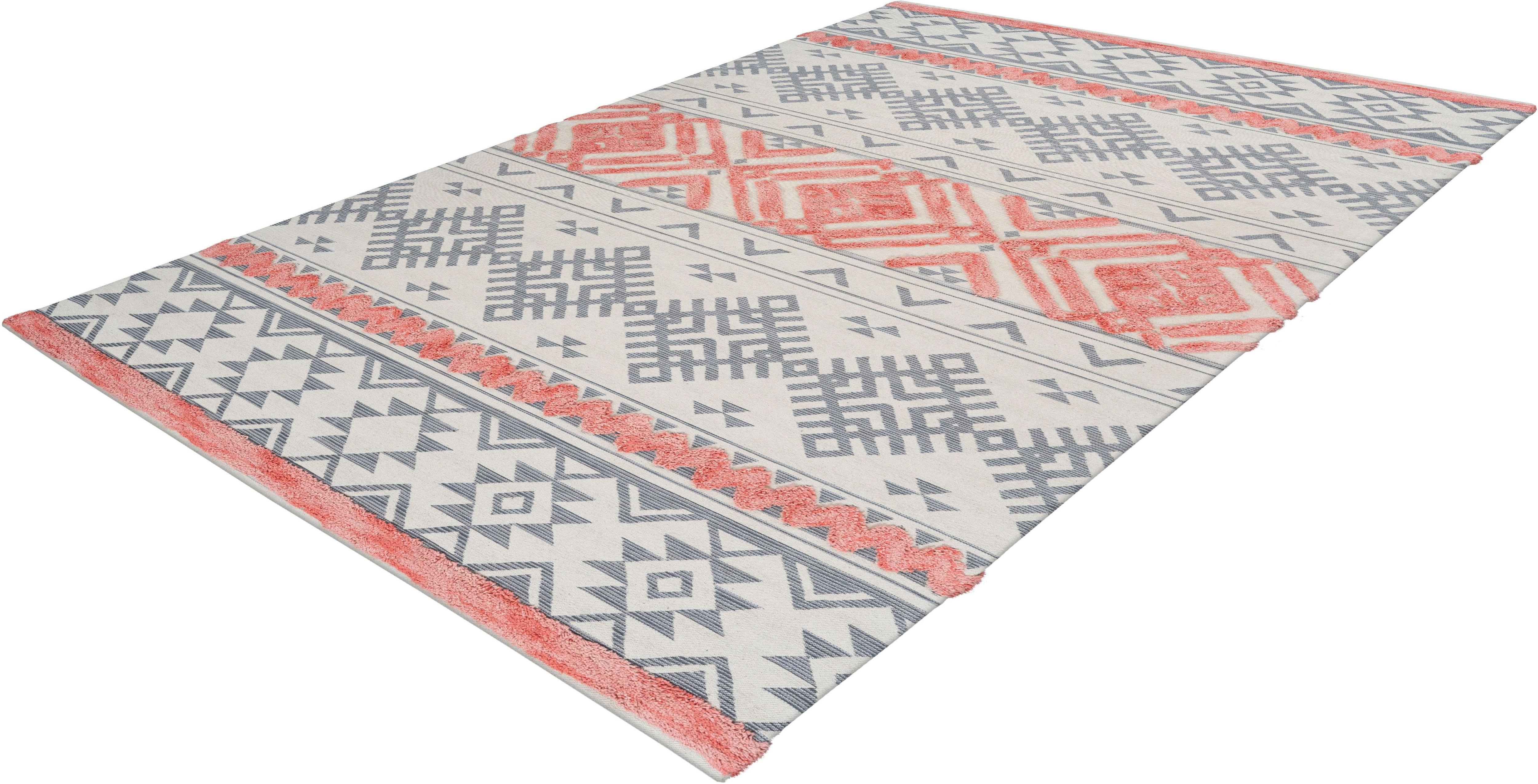 Teppich Kibo 512 calo-deluxe rechteckig Höhe 10 mm maschinell gewebt