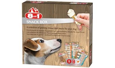 8in1 Hundesnack »Snackbox S«, mit 5 versch. Sorten kaufen