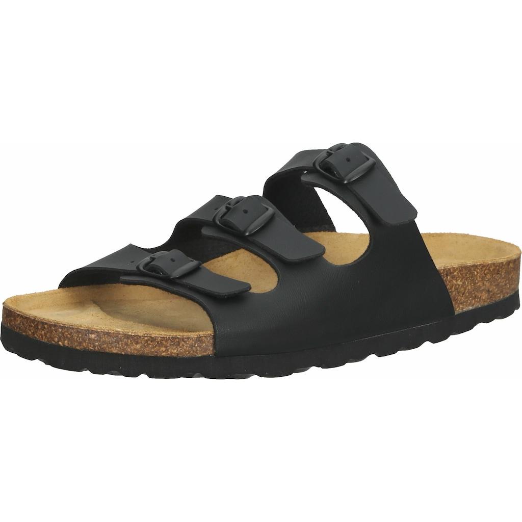 COSMOS Comfort Pantolette »Lederimitat«