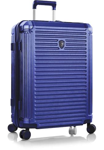 Heys Hartschalen-Trolley »Edge, 66 cm, Kobaltblau«, 4 Rollen kaufen