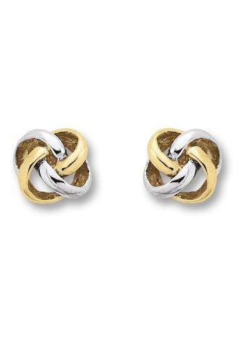 ONE ELEMENT Paar Ohrstecker »Ohrringe / Ohrstecker Knoten aus 333 Gelbgold« kaufen
