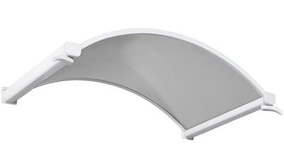 Gutta Rundbogenvordach, 160x90x30 cm, weiß - transparent kaufen