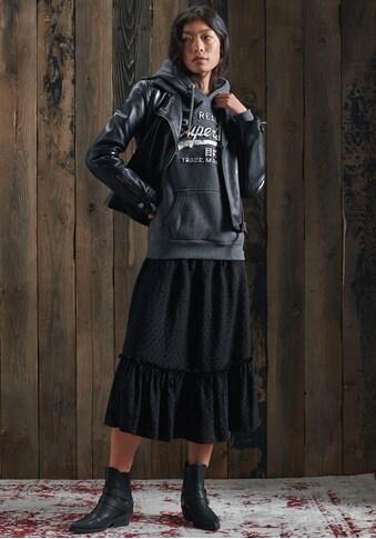 Superdry Kapuzensweatshirt »VL INFILL HOOD BR«, mit bunten Logoprint kaufen