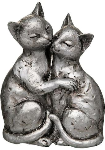 Ambiente Haus Dekofigur »Katzen-Paar«, Höhe 15 cm kaufen