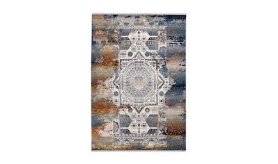 me gusta Teppich »Anouk 900«, rechteckig, 5 mm Höhe, Flachgewebe, Vintage Design,... kaufen