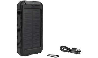 CALIMA Solar Powerbank, 10000 mAh, 10.000 mAh Ladekapazität, 2 Ladefunktion, ideal für... kaufen
