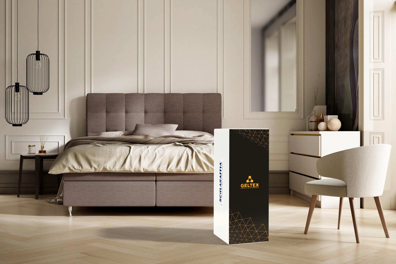 Gelschaummatratze GELTEX Quantum 180 Schlaraffia 18 cm hoch | Schlafzimmer > Matratzen > Gelmatratzen | Weiß | Schlaraffia