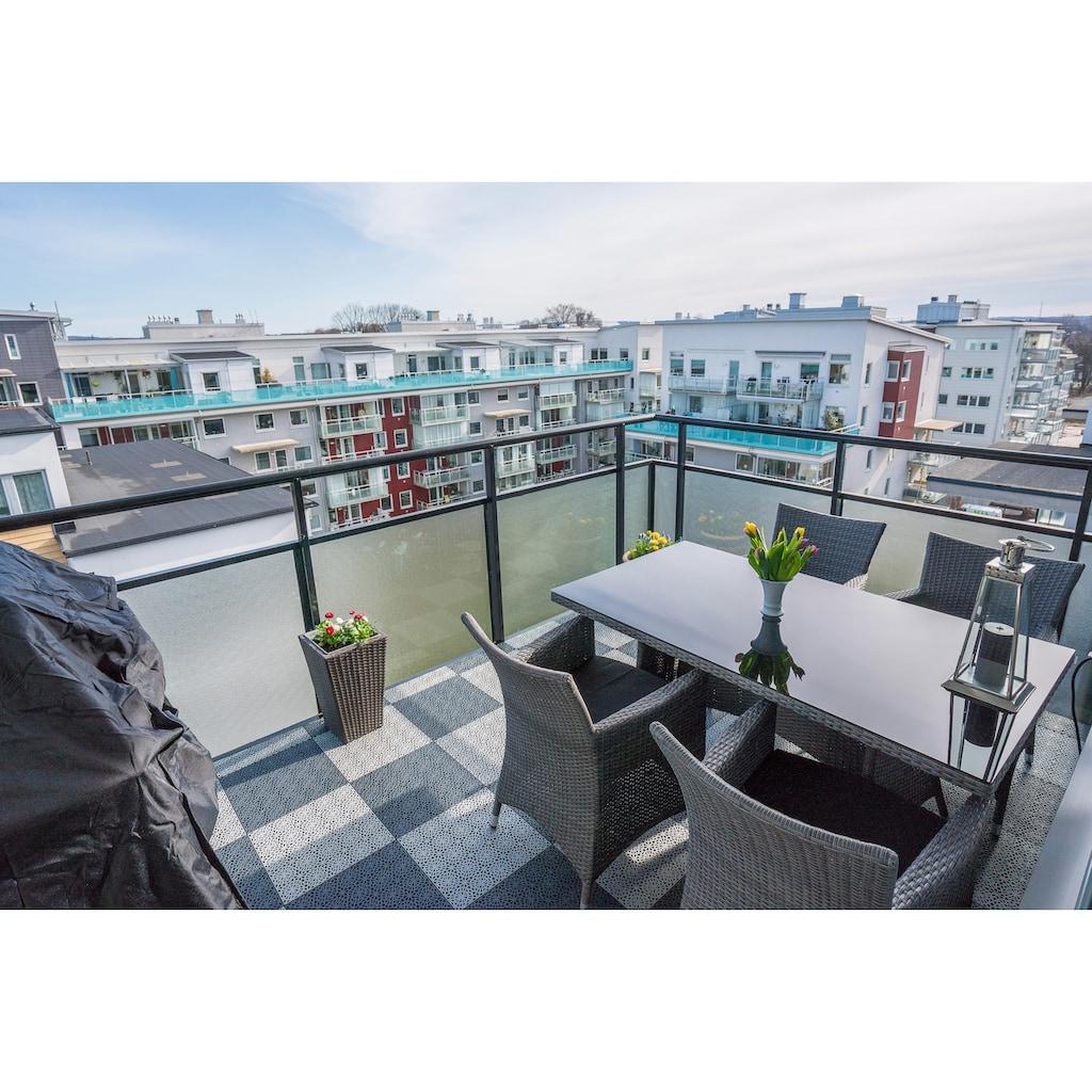 Bergo Flooring Terrassenplatten »XL«, Klickfliesen