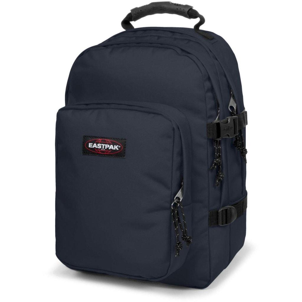 Eastpak Laptoprucksack »PROVIDER, Cloud Navy«, enthält recyceltes Material (Global Recycled Standard)