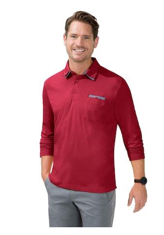 Marco Donati Langarm - Shirt in Baumwoll - Qualität kaufen