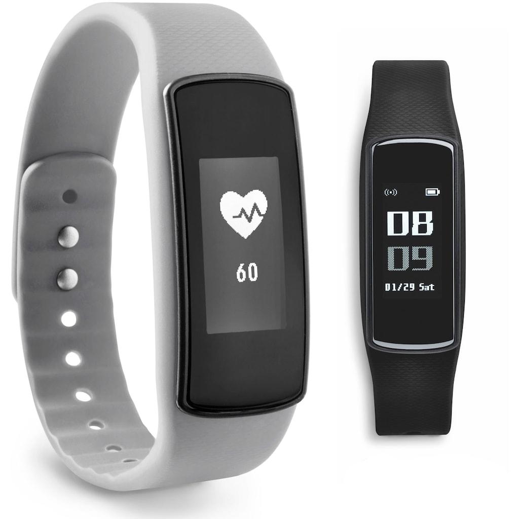ADE Activity Tracker »AM1703 FitVigo«, Fitness Armband (Schrittzähler, Puls, Kalorien uvm.)