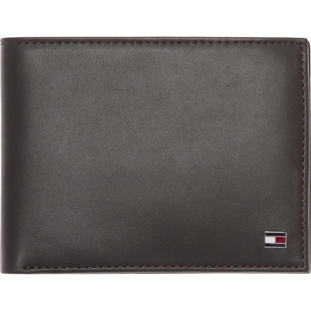 Tommy Hilfiger Geldbörse »ETON CC AND COIN POCKET«, aus hochwertigem Leder