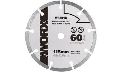 WORX Diamantsegmentsägeblatt »WA5048« kaufen