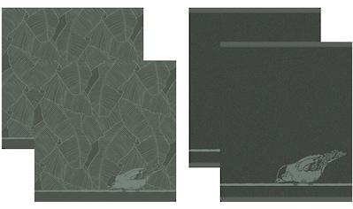 DDDDD Geschirrtuch »Birdy«, (Set, 4 tlg., Combi-Set: bestehend aus 2x Küchentuch + 2x... kaufen