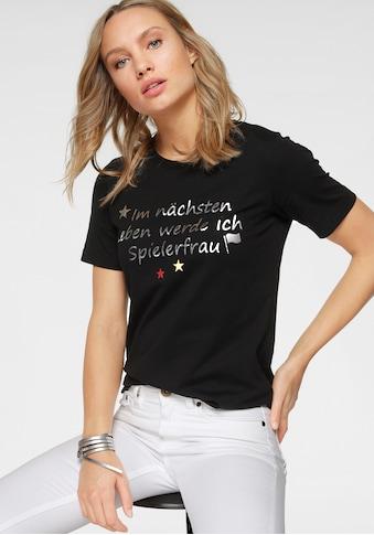STOOKER WOMEN Rundhalsshirt »Cara«, EM-Fanshirt mit coolem Spruch kaufen