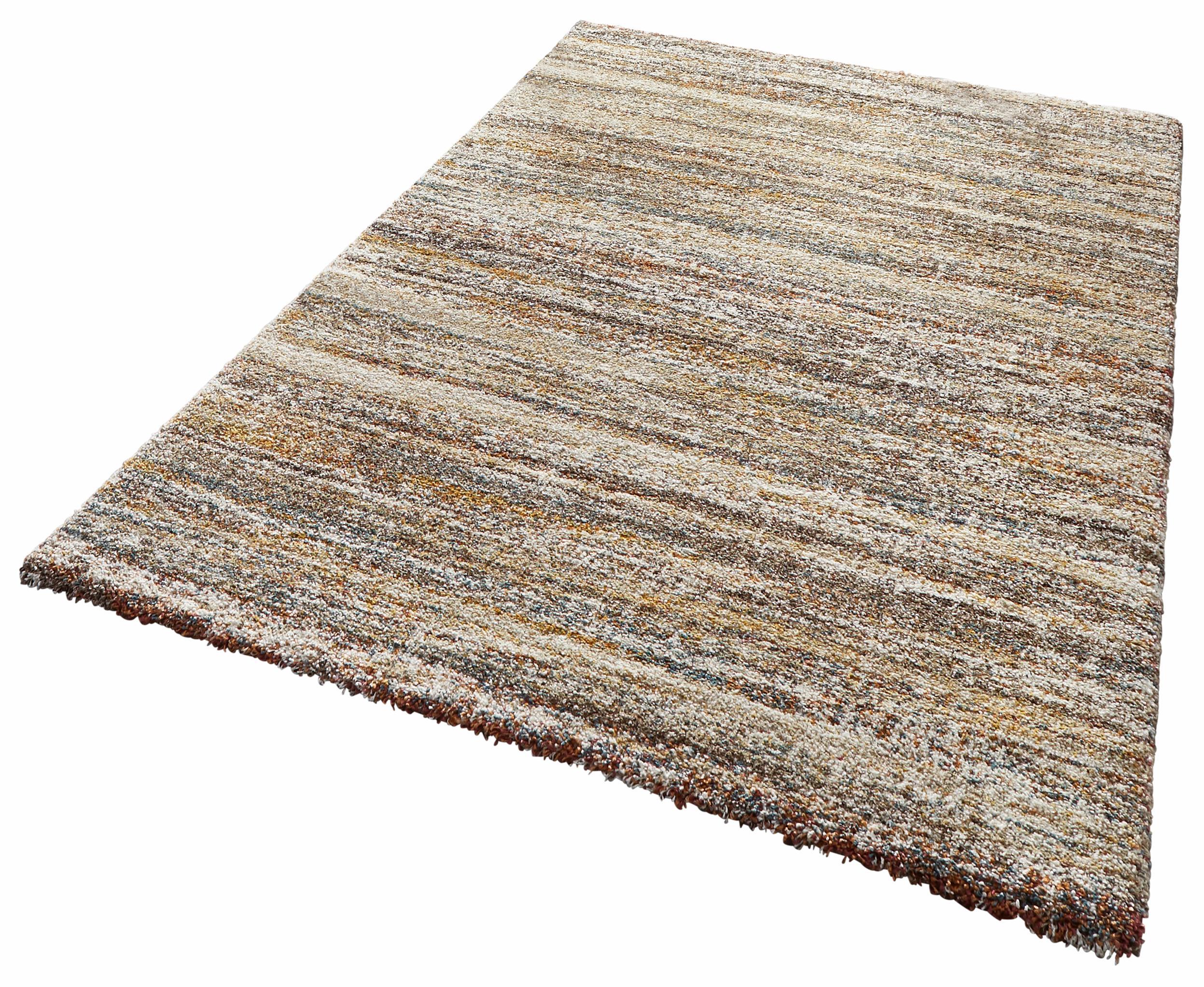 Hochflor-Teppich Granite MINT RUGS rechteckig Höhe 25 mm