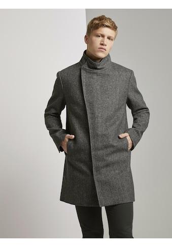 TOM TAILOR Denim Langmantel »Asymmetrischer Mantel mit Stehkragen« kaufen