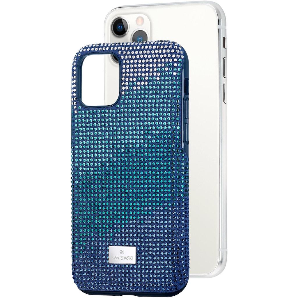 Swarovski Smartphone-Hülle »Crystalgram Smartphone Schutzhülle mit integriertem Stoßschutz, iPhone® 11 Pro, blau, 5533958«, iPhone 11 Pro, mit Swarovski® Kristallen