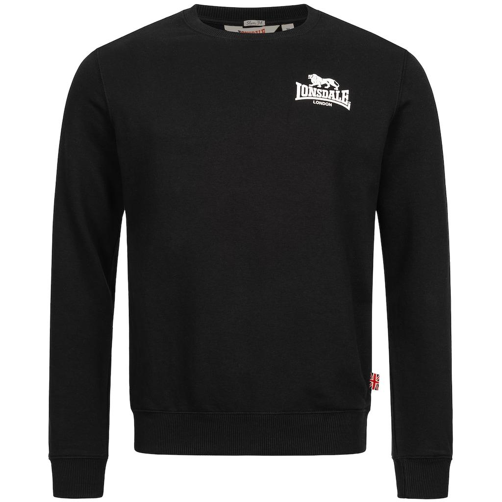 Lonsdale Sweatshirt »LONGRIDGE«, mit auffälligem Logo-Print