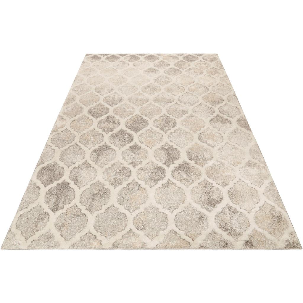 Wecon home Teppich »Replay«, rechteckig, 20 mm Höhe, Kurzflor, Wohnzimmer