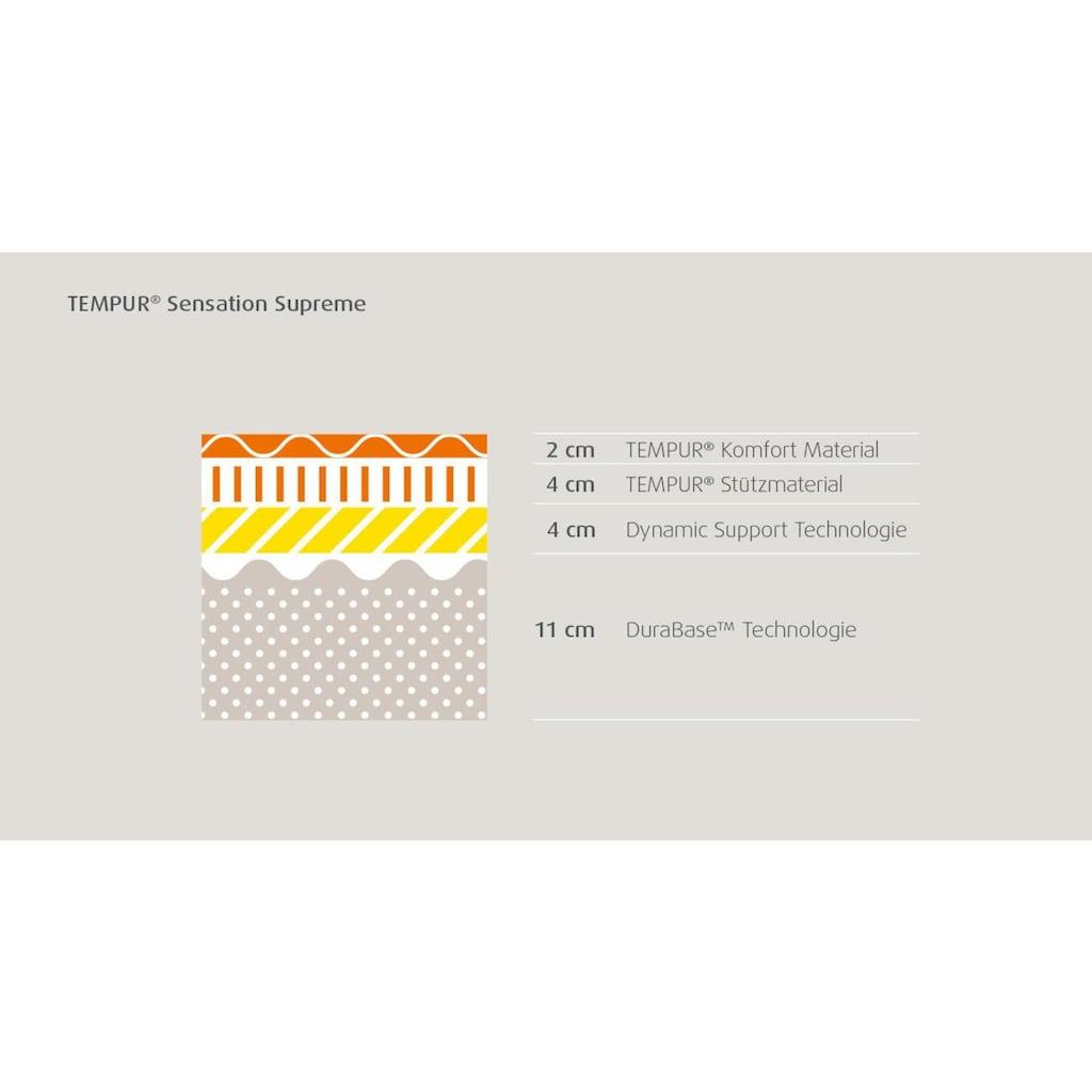 Tempur Visco-Matratze »Sensation Supreme« (1 St.)