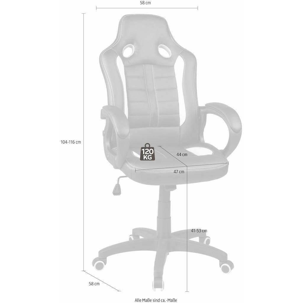 Duo Collection Gaming Chair »Fabio«, mit gepolsterten Armlehnen