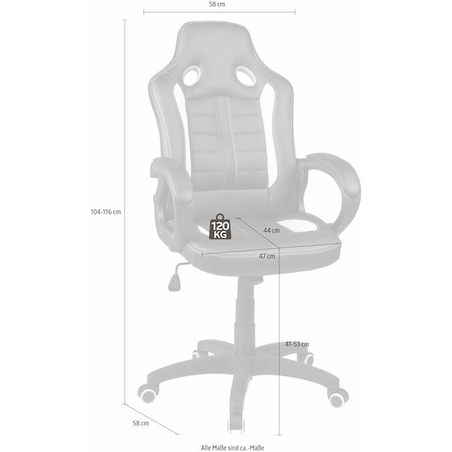 """Duo Collection Gaming Chair """"Fabio"""""""