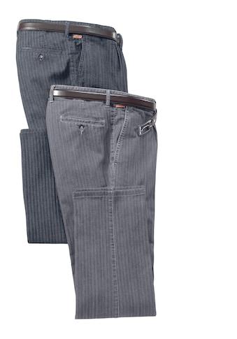 Francesco Botti Jeans mit Bundfalten kaufen