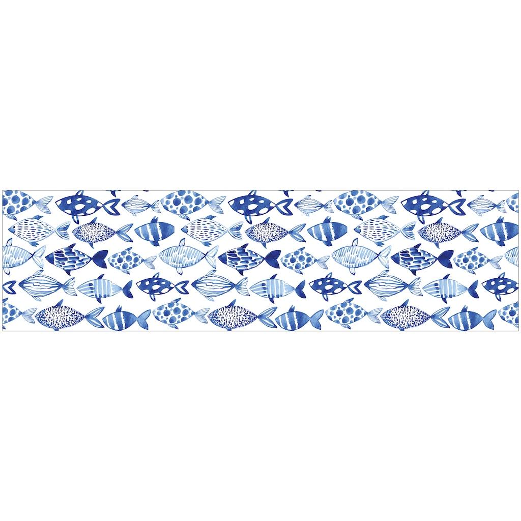 MySpotti Küchenrückwand »fixy Shoal«, selbstklebende und flexible Küchenrückwand-Folie