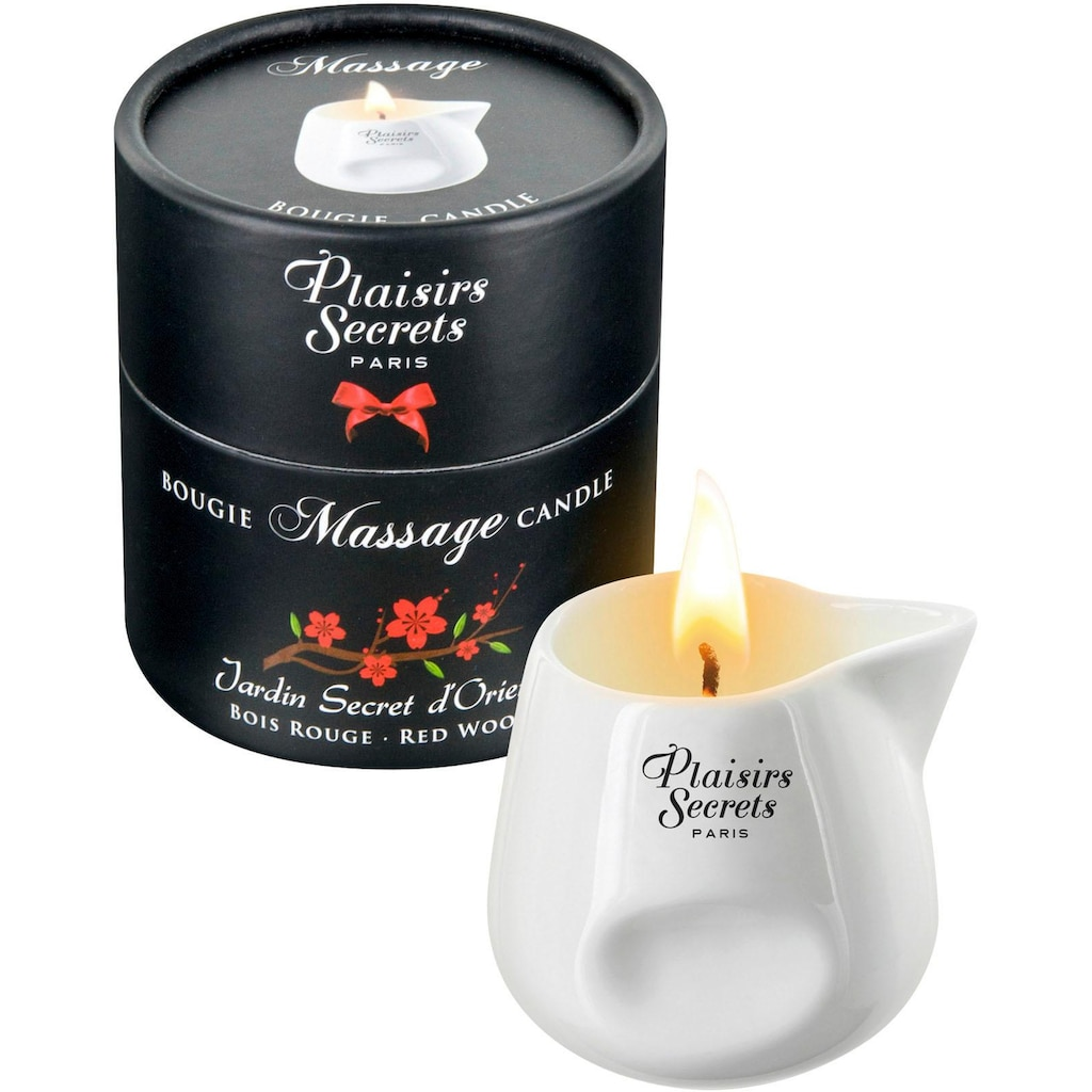 Massagekerze »Massage Candle Red Wood 80 ml«
