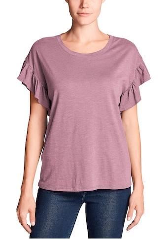Eddie Bauer T-Shirt, Willow mit Kurzarm und Rüschen kaufen