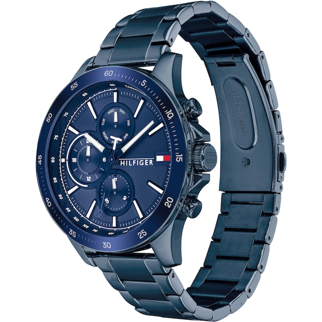 TOMMY HILFIGER Multifunktionsuhr »CASUAL, 1791720«