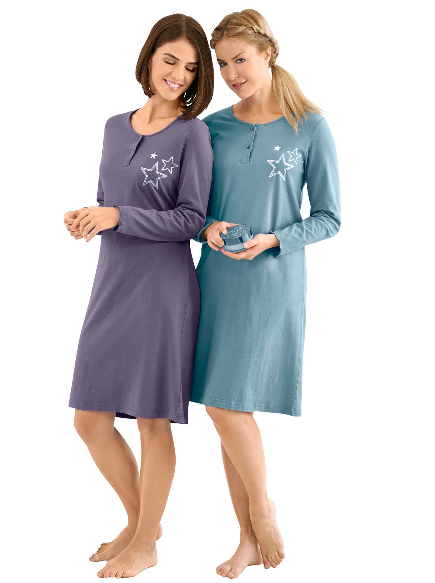 wäschepur Sleepshirt (2 Stck)   Bekleidung > Nachtwäsche > Sleepshirts   Wäschepur